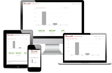 Custom Sales Portal